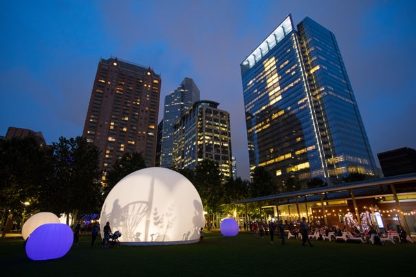 moonGARDEN@Discovery Green and Avenida