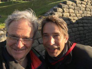 Bernard et Jean-François Desmarais à Vimy pour la cérémonie officielle