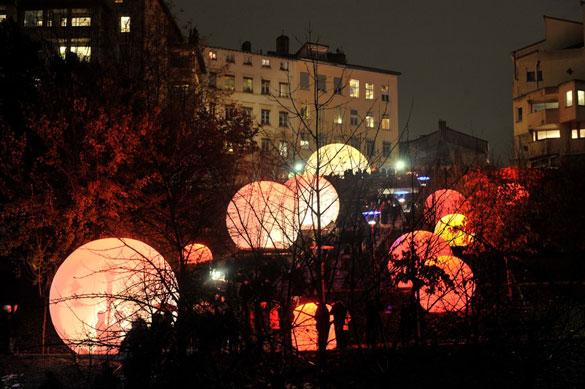 Les Volières - Festival des lumières de Lyon