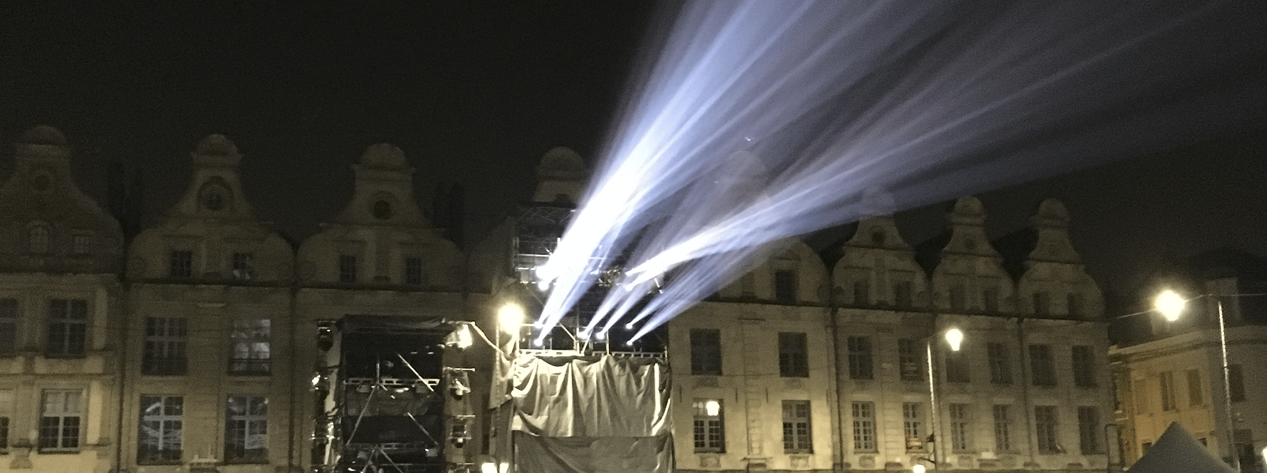 Projection tower in Arras, France