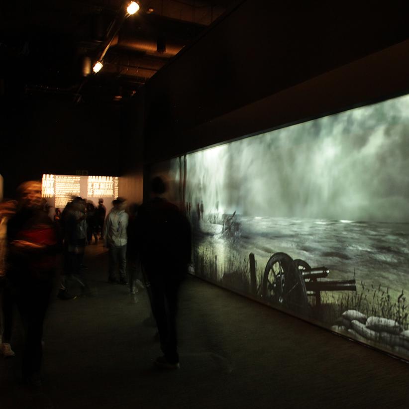 War Tunnel, Musée de la guerre d'Ottawa