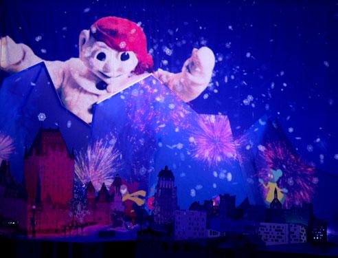 Le rêve de Bonhomme, Carnaval de Québec