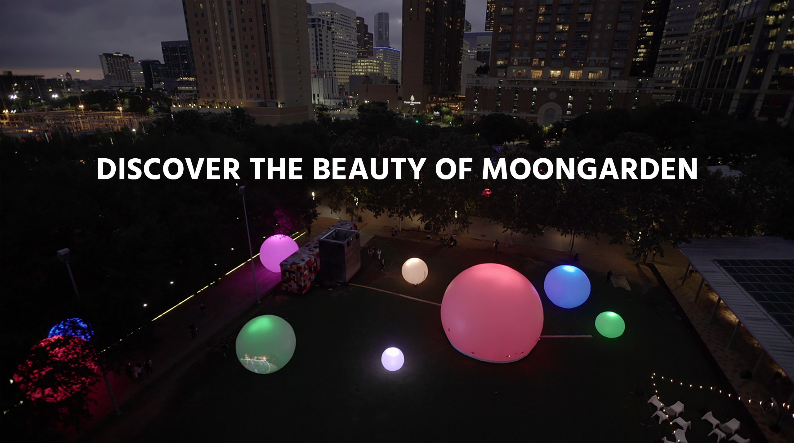 Discover the beauty of moonGARDEN